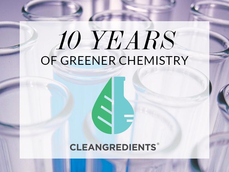 CleanGredients 10 years